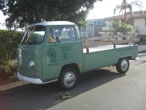 1968 VW Pick up Single cab - $8500 | CraigsList Finds | Volkswagen