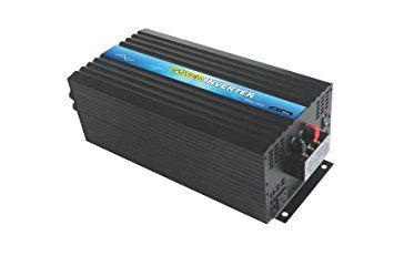 NIMTEK NM3000 Pure Sine Wave Off-grid Inverter, Solar Inverter 3000 Watt 24 Volt DC To 110 Volt AC