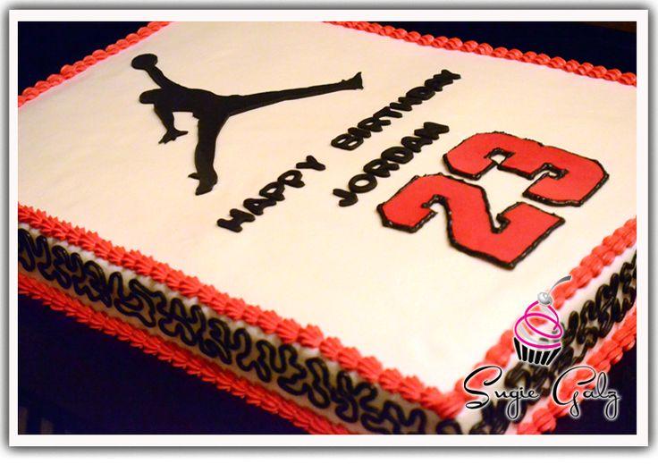 michael jordan cake