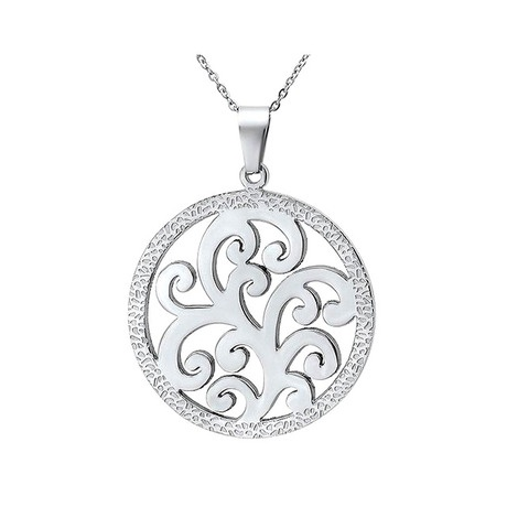 I found this amazing Stainless Steel Cut-Out Flower Pendant at nomorerack.com for 83% off.