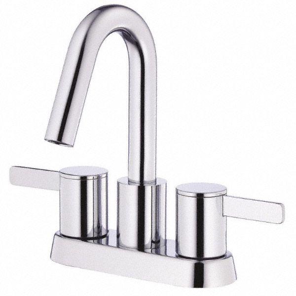 Danze Amalfi Two Handle Centerset Lavatory Faucet - Chrome   Free Shipping - Modern Bathroom