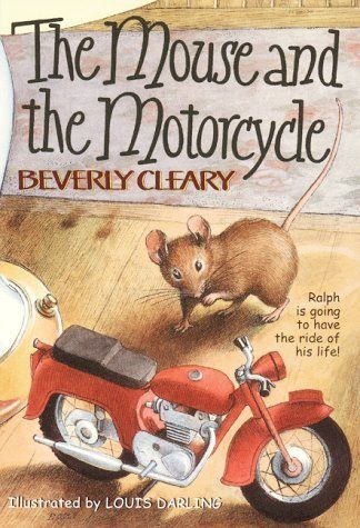Oh.My.God.  My heart skipped a beat. I had totally forgotten about this book.  Takes me back. Dammit, why do kids have to grow up so darned fast?! ...The Mouse and the Motorcycle