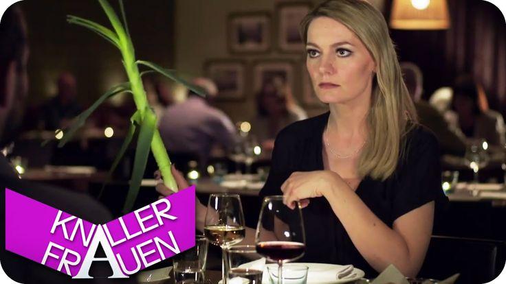 Wenn man beim Date feststellt der Typ ist scheiße :P   Lauch Lauch Lauch! - Knallerfrauen mit Martina Hill   Die 3. Staffel