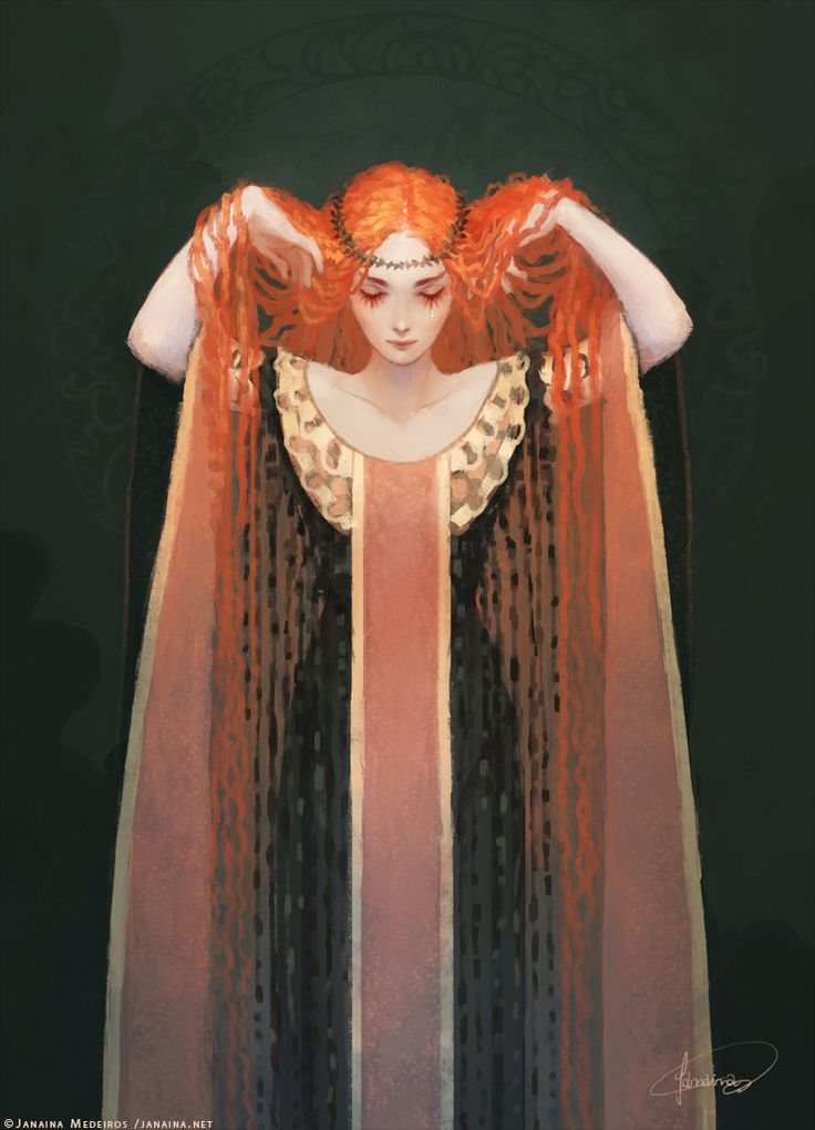 Dando a volta - janainaart: Ariadne, mythical princess of
