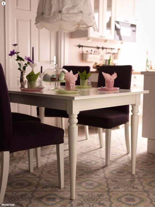 1000 images about ikea ingatorp dining table on pinterest ikea dining tab - Table reglable hauteur ikea ...