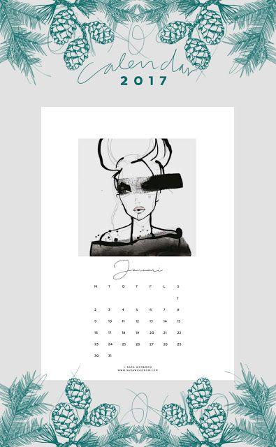 En ce début d'année 2017,   j'ai fait un peu le tour des calendriers de l'année à télécharger et à imprimer gratuitement ..       En v...