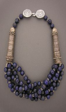 Anna Holland designs unique ethnic jewelry and tribal jewelry using contemporary, antique, and ancient beads and artifacts. Her handcrafted necklaces, bracelets, and rings are all one-of-a-kind treasures, collected and worn by women and men around the world.