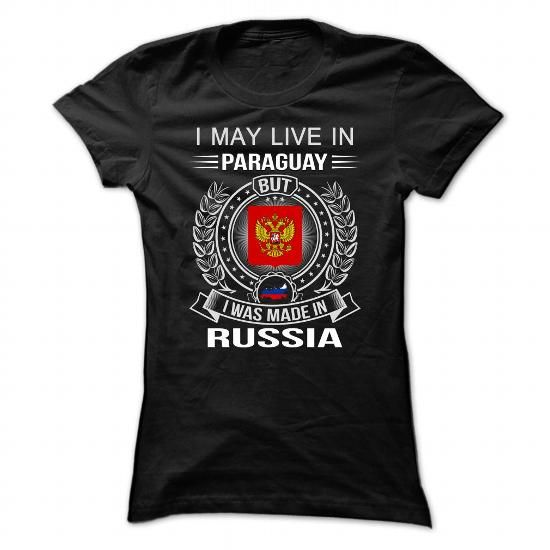 Paraguay-Russia - #gifts for guys #novio gift. BUY TODAY AND SAVE => https://www.sunfrog.com/LifeStyle/Paraguay-Russia.html?68278