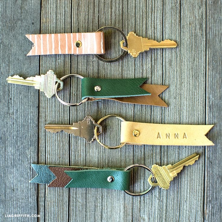 #Leather You can make this! Instructions at www.LiaGriffith.com