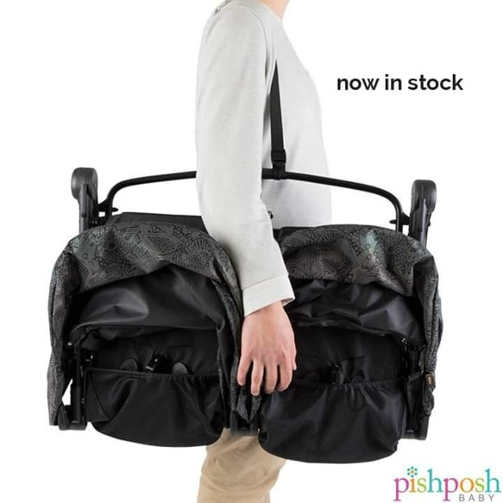 Big news!!!! The Mountain Buggy Nano Duo is now in stock!! This teeny tiny, incredibly lightweight (weighs just 18lbs!) double stroller features two individually-reclining seats with separate canopies and footrests. Use with a cocoon (sold separately) to use the Nano Duo from birth. Weighs just 18 lbs and can hold up to 70 lbs. Available in 6 colors!   http://www.pishposhbaby.com/mountain-buggy-nano-duo-double-stroller.html