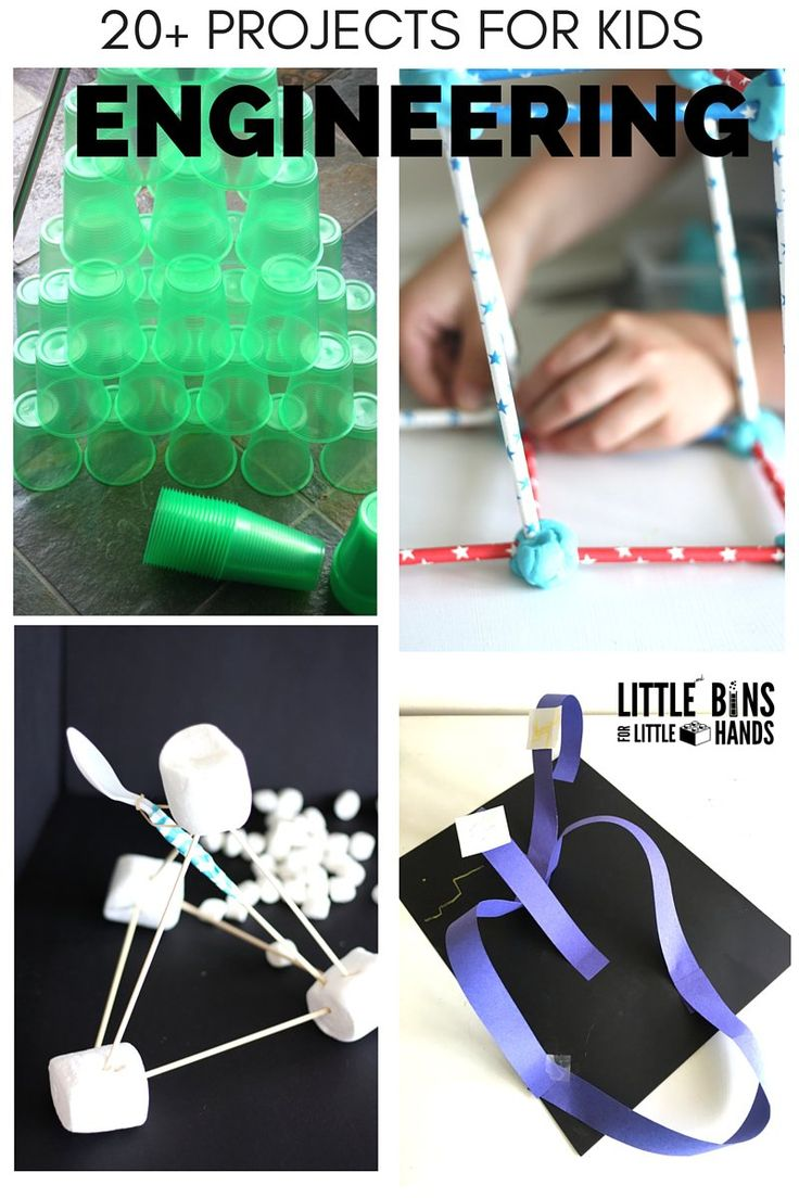 Summer Engineering Projects for Kids STEM