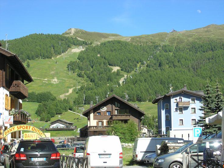 De liften zijn ook in de zomer open in Livigno.