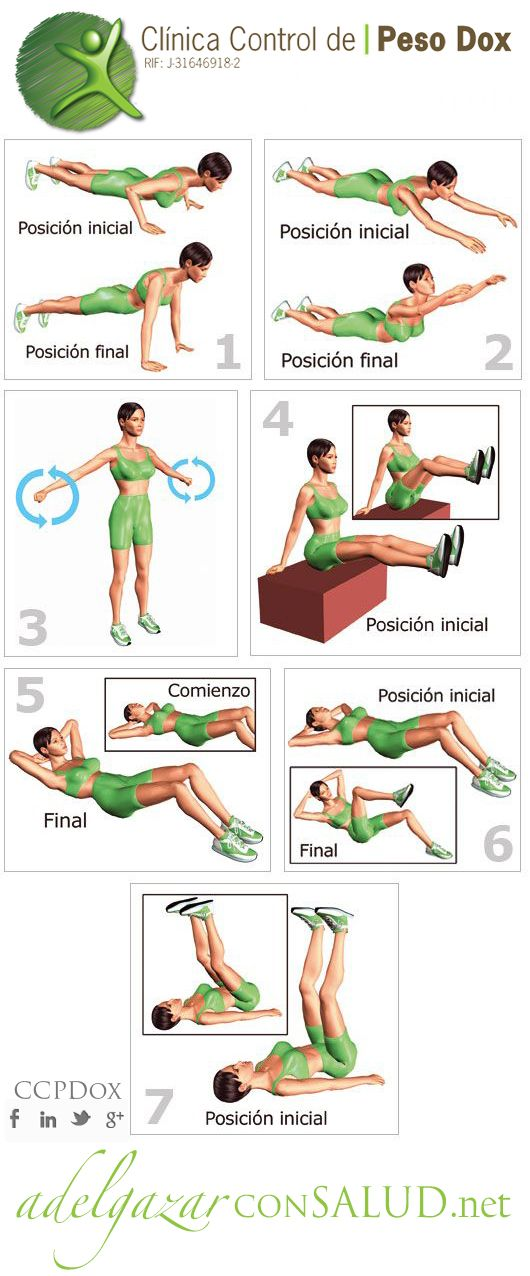Molto 14 best Ejercicios images on Pinterest | Work outs, Excercise and  PP88