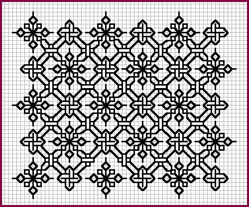 'Blackwork pattern'