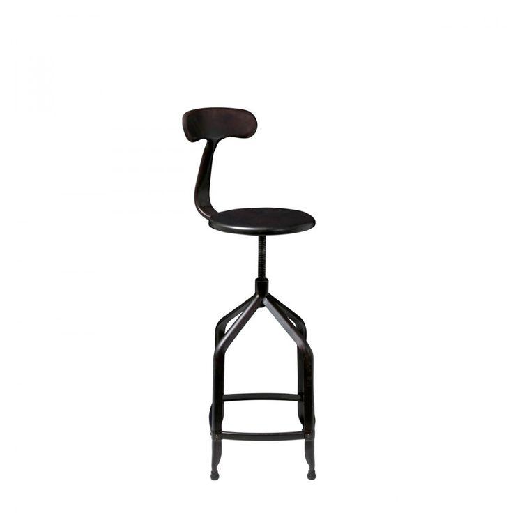 best 25 chaise de bar industriel ideas on pinterest. Black Bedroom Furniture Sets. Home Design Ideas