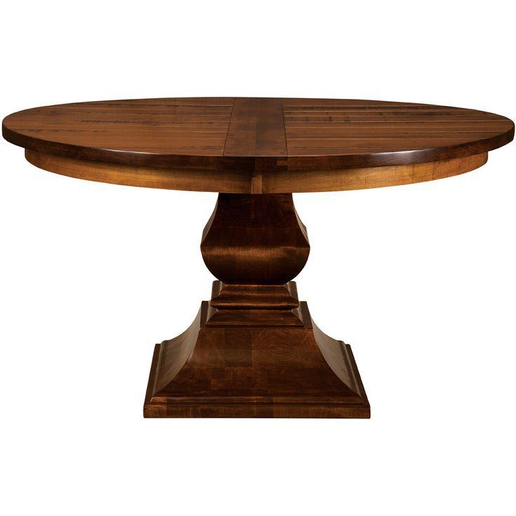 Charleston Pedestal Extension Table