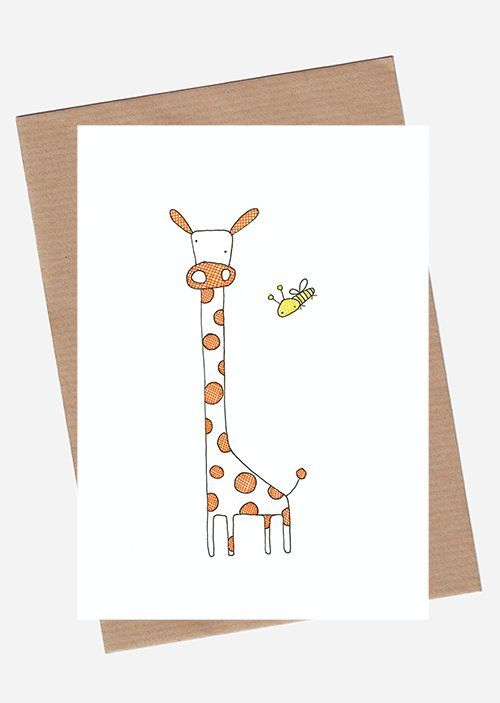 Giraffe via SpilledAase.com. Click on the image to see more!