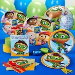 Find all the Super Why! party supplies needed for an amazing Super Why! birthday party! Featured on this lense is a variety of Super Why! party...