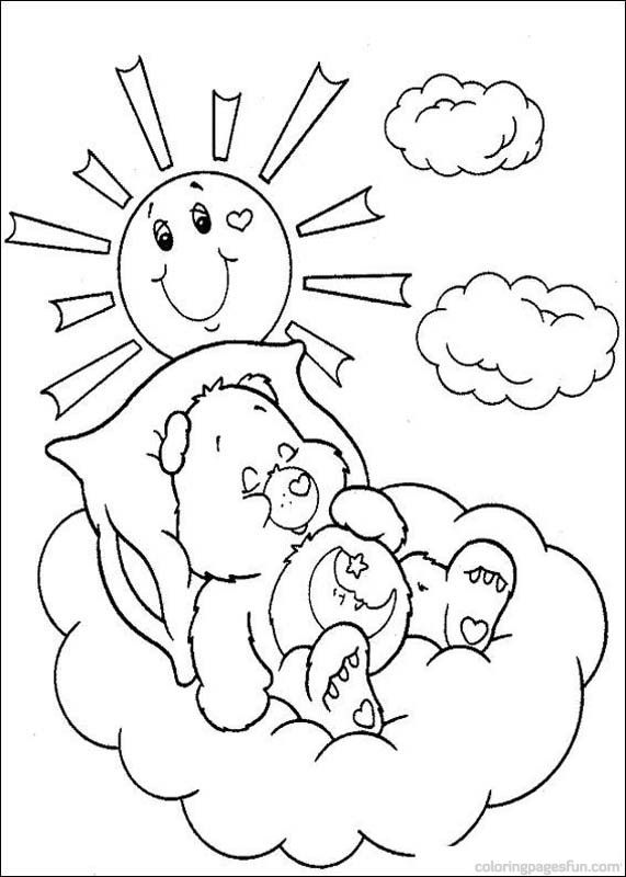 64 best Care Bears images on Pinterest | Care bears, Coloring books ...