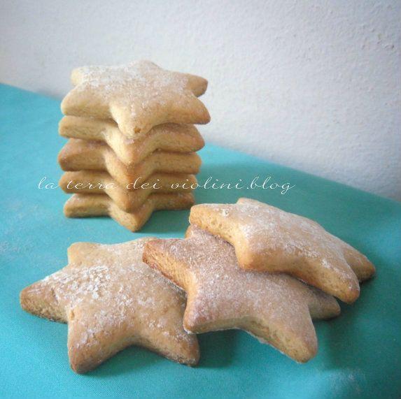 Biscotti  leggeri,deliziose stelline per colazione e merenda
