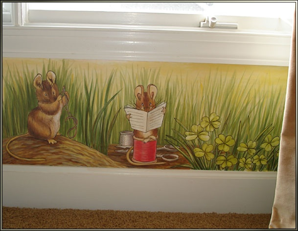 17 best images about beatrix potter on pinterest for Beatrix potter wall mural