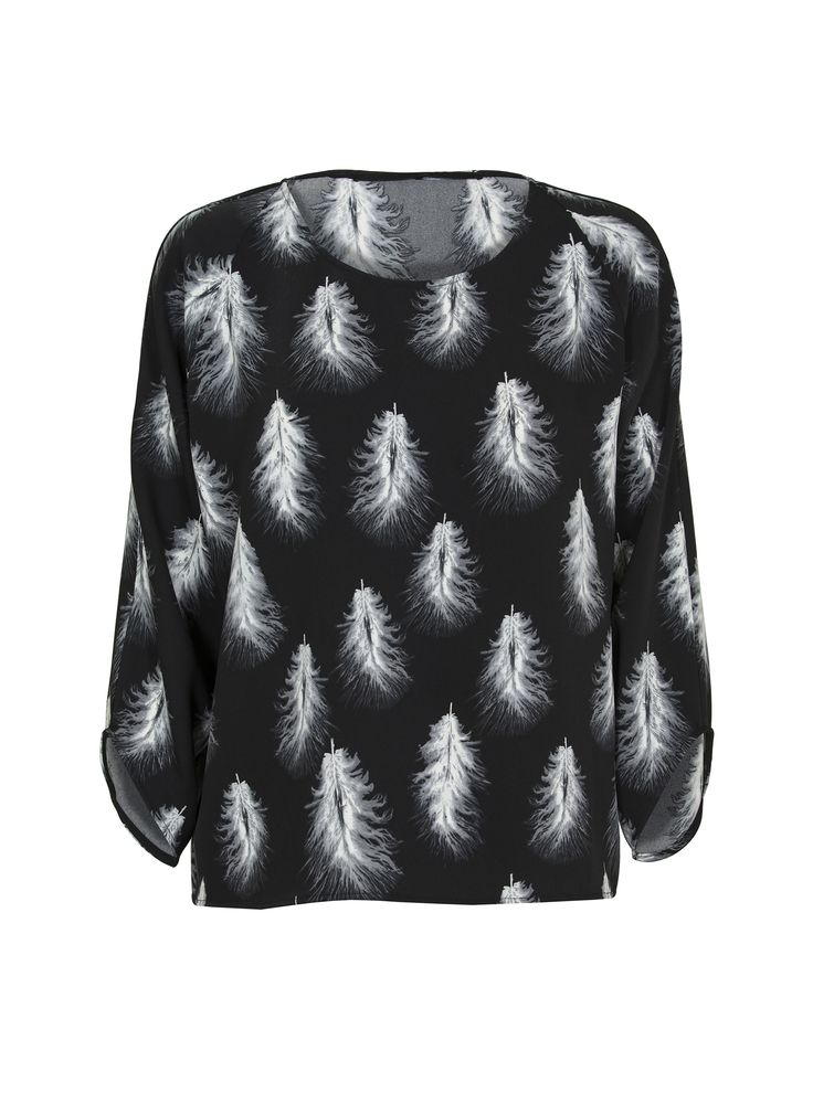 JUST FEMALE AW 2014 // FEATHER BLOUSE