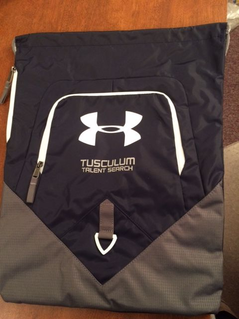 Under Armour bags for Talent Search #TRIO