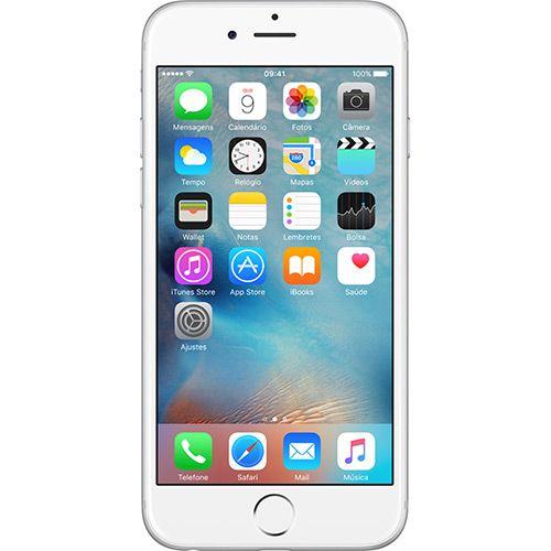 (Americanas.com) iPhone 6 64GB Prata Tela 4.7 ´ iOS 8 4G Câmera 8MP - Apple - de R$ 3528.89 por R$ 3499 (1% de desconto)