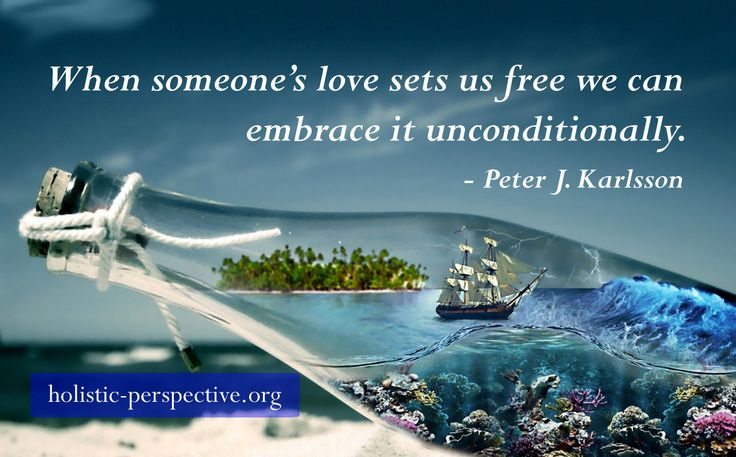 Theory of Holistic Perspective | Unconditional love and freedom