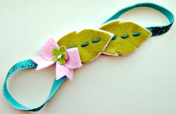Leaf Garland Headband  Felt Flower Headband by giddyupandgrow, $19.00: Felt Flower Headbands, Felt Crafts, Felt Leaves, Garlands Headbands, Felt Hair, Leaf Garlands, Headbands Felt, Felt Flowers, 19 00