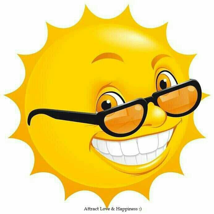 Say you are my sunshine - https://www.pinterest.com/mikethemagician/all-about-tell-your-answer-in-smileys-and-pics/