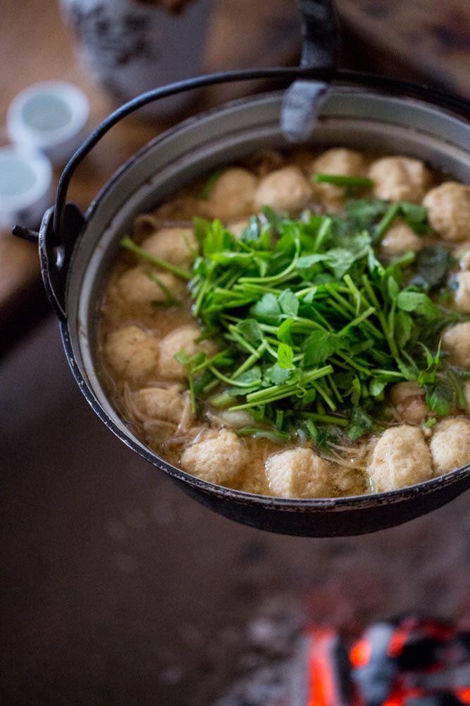 Nyuto Onsen Yamato Potato Stew (Japanese Potato Miso Nabe) 山の芋鍋