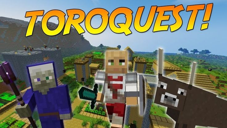 ToroQuest Mods 1.11.2/1.10.2 for Minecraft is an adventure and function-playing mod. RPG and adventure mods commonly upload into the Minecraft world loads of latest objects, creatures and buildings for players to collect and find out to overcome every challenge the game has to offer. Do you...