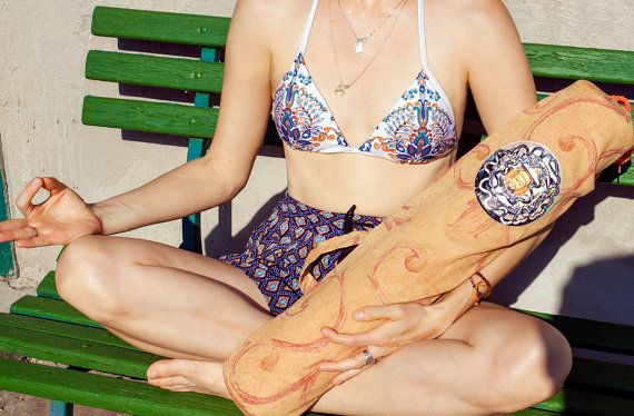 Eco friendly YOGA MAT BAG for standard yoga mat