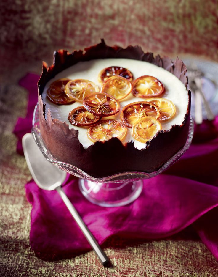 This delightfully decadent frozen lemon dessert is surprisingly low in calories. A real showstopper.