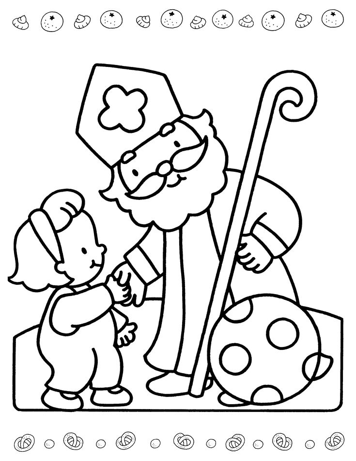 sinterklaas coloring pages - photo#41