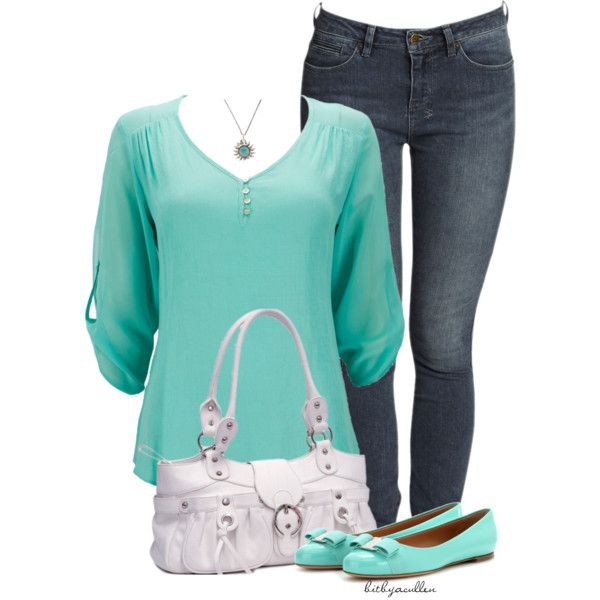 Mint Green by bitbyacullen on Polyvore featuring Wallis, Salvatore Ferragamo and Lucky Brand
