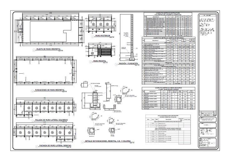 M s de 25 ideas incre bles sobre muro perimetral en for Piscinas ecologicas pdf
