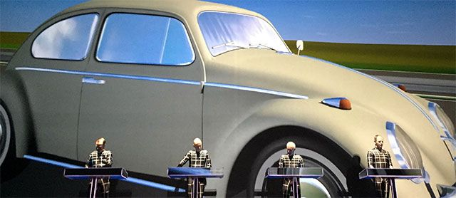 Kraftwerk 3D Concert: Radio-Activity