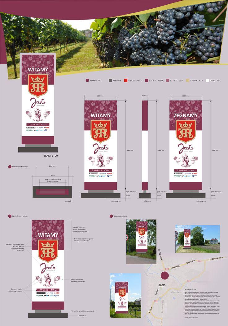 Projekt motywu przewodniego dla Miasta Jasła