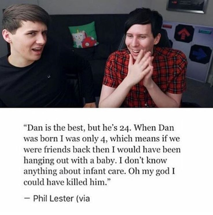 just when i thought phil lester couldn't get any cuter...