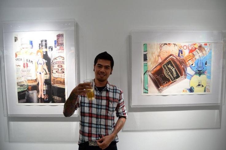 'Pool Party' Taksu Gallery Singapore 2011