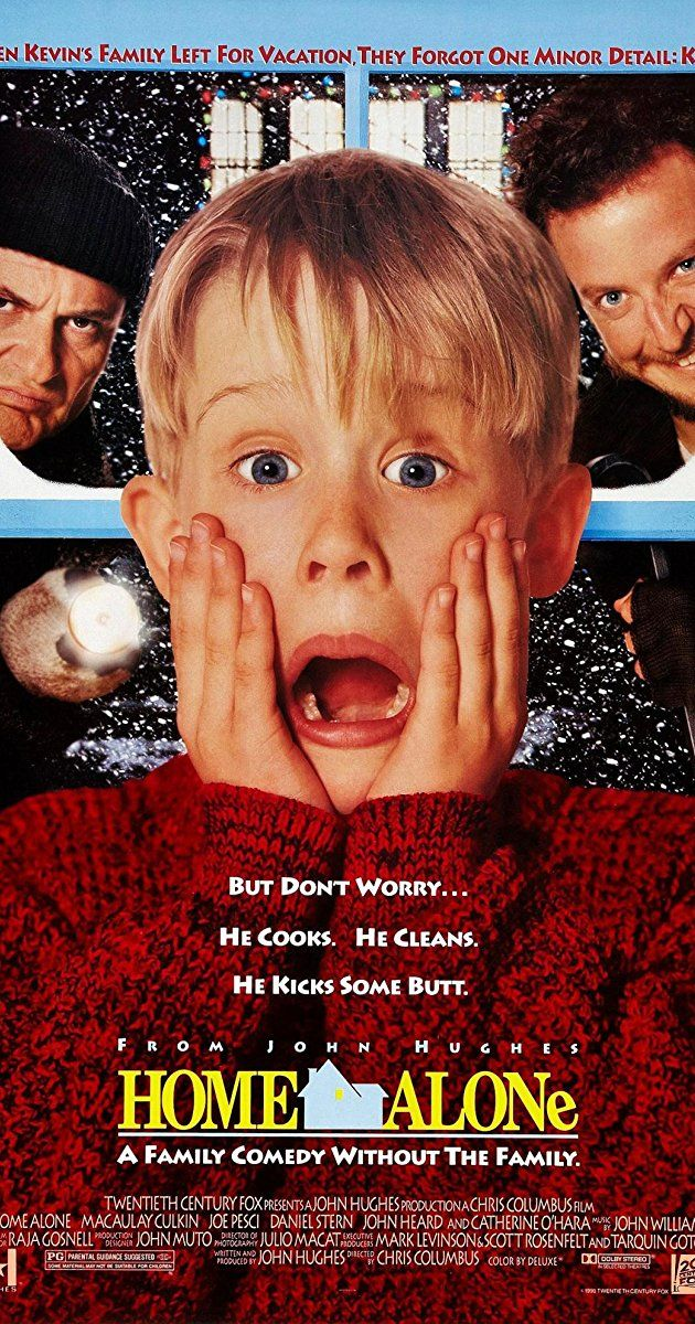 Directed by Chris Columbus.  With Macaulay Culkin, Joe Pesci, Daniel Stern, John Heard. An eight-year-old troublemaker must protect his house from a pair of burglars when he is accidentally left home alone by his family during Christmas vacation.