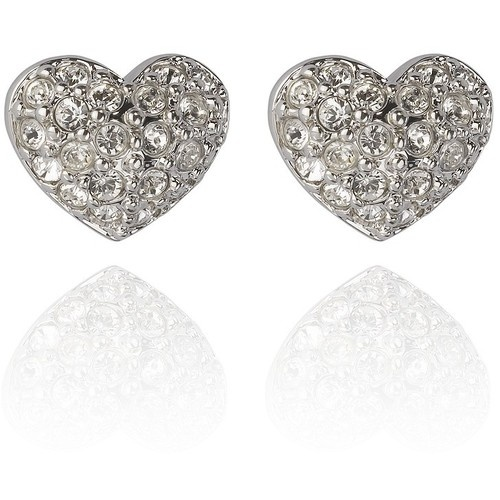 Swarovski Earrings Heart Shaped Jewelry Cute Pinterest Shapes And