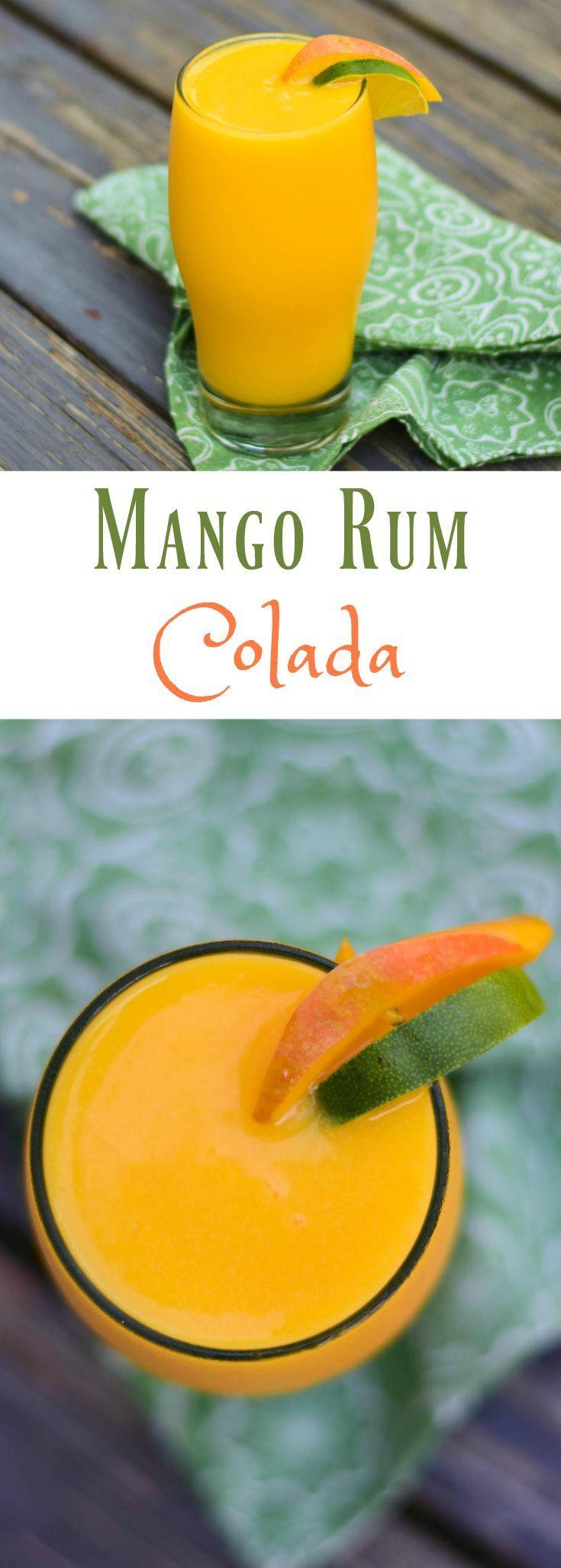 1000+ ideas about Mango Rum on Pinterest | Malibu mixed ...