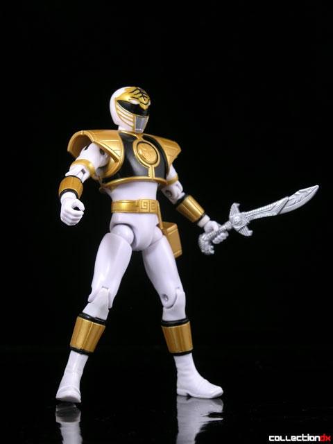 Mighty Morphin Power Rangers 2008 Super Legends – White Ranger