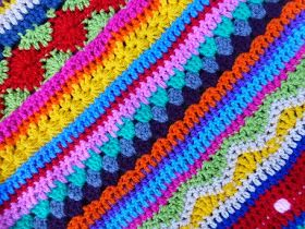 crochet along 2014, stripey blanket, as-we-go-stripey-blanket, crochet-along, gehaakte gestreepte deken, deken haken, gratis haakpatroon deken, star stitch, catherine wheel stitch, wave stitch, crochet geek,haakdiagrammen,bobble stitch, sterrensteek, bobbelsteek,tutorial, haaktutorials,tutorials over haken, mixed-stitch-stripey-blanket