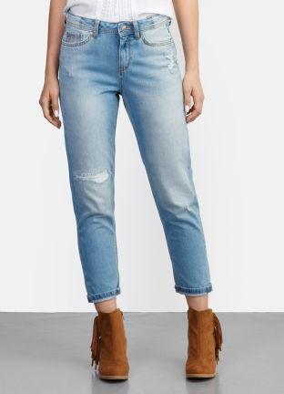 Стильные джинсы-бойфренды за 2499р.- от OSTIN