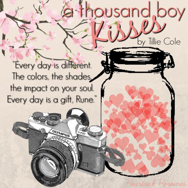 A Thousand Boy Kisses by Tillie Cole HeartsickHeroines
