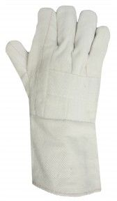http://ca.en.safety.ronco.ca/products/63/thermo-guard-66-097 Thermo-Guard 66-097 Hot Mill Glove  These 32 ounce RONCO hot mill gloves have a 100% cotton quilted double palm, thumb and index finger and reinforced knuckle strap for additional protection. They provide long wear and good heat resistance for applications up to 400F.*